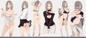 Rating: Questionable Score: 49 Tags: ass bikini bra cleavage mikoto_akemi no_bra nopan open_shirt pantsu seifuku skirt_lift swimsuits thong undressing User: saemonnokami