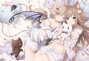 Rating: Questionable Score: 45 Tags: animal_ears mafuyu_(chibi21) possible_duplicate tagme tail wings User: Twinsenzw