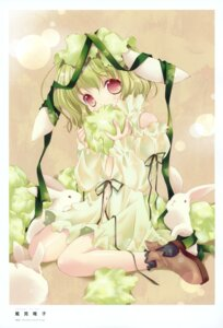 Rating: Safe Score: 16 Tags: animal_ears bunny_ears dress tokumi_yuiko User: crim