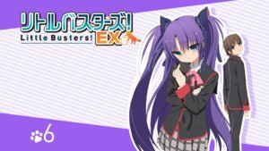 Rating: Questionable Score: 25 Tags: little_busters! naoe_riki neko sasasegawa_sasami seifuku User: SHM222