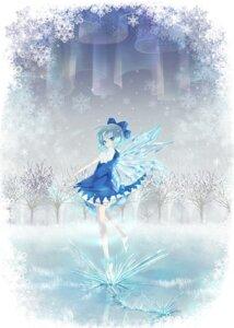 Rating: Safe Score: 29 Tags: cirno miyuki_ruria touhou wings User: Nekotsúh
