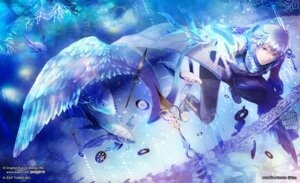 Rating: Safe Score: 15 Tags: kaito male vocaloid wings yuu User: Noodoll