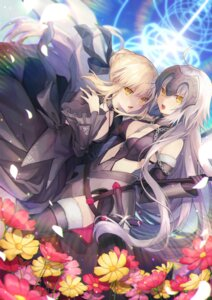 Rating: Safe Score: 46 Tags: .com_(cu_105) cleavage dress fate/grand_order jeanne_d'arc jeanne_d'arc_(alter)_(fate) saber saber_alter sword thighhighs User: nphuongsun93