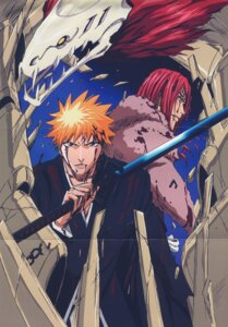 Rating: Safe Score: 6 Tags: abarai_renji bleach kurosaki_ichigo male User: Radioactive