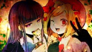 Rating: Safe Score: 11 Tags: beatrice frederica_bernkastel kl lambdadelta umineko_no_naku_koro_ni ushiromiya_battler wallpaper User: SubaruSumeragi