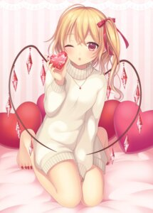 Rating: Safe Score: 55 Tags: flandre_scarlet sweater touhou wings yamayu User: Mr_GT