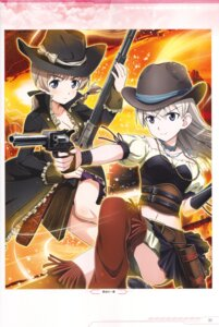 Rating: Safe Score: 6 Tags: eila_ilmatar_juutilainen gun lynette_bishop strike_witches tagme User: Nepcoheart