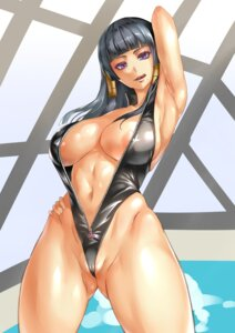 Rating: Questionable Score: 65 Tags: areola cameltoe cleavage dead_or_alive_5 nipple_slip nyotengu open_shirt pokkora swimsuits User: Mr_GT