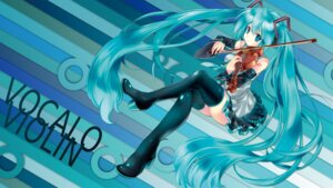 Rating: Safe Score: 26 Tags: hatsune_miku rituiti thighhighs vocaloid wallpaper User: echidna_vita
