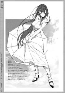 Rating: Safe Score: 11 Tags: ane_naru_mono dress heels monochrome pochi_(pochigoya) screening skirt_lift tagme umbrella User: kiyoe