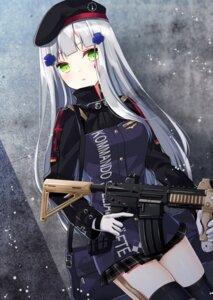 Rating: Safe Score: 42 Tags: girls_frontline gun hk416_(girls_frontline) purin thighhighs User: fairyren