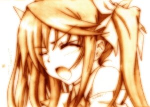 Rating: Safe Score: 11 Tags: godees huang_lingyin infinite_stratos monochrome User: hobbito