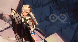 Rating: Safe Score: 26 Tags: arknights horns saria_(arknights) xtears_kitsune User: Dreista