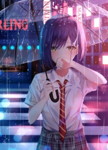 Rating: Safe Score: 73 Tags: darling_in_the_franxx ichigo_(darling_in_the_franxx) junpaku_karen see_through seifuku umbrella wet wet_clothes User: Mr_GT