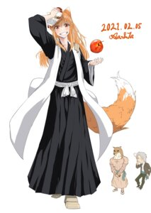 Rating: Safe Score: 8 Tags: animal_ears bleach cosplay craft_lawrence crossover holo japanese_clothes komamura_sajin spice_and_wolf tagme tail User: dick_dickinson