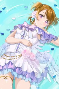 Rating: Safe Score: 13 Tags: dress garter gorilla-shi koizumi_hanayo love_live! wet wings User: saemonnokami