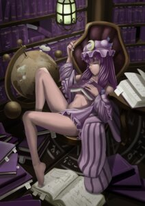 Rating: Questionable Score: 16 Tags: control5 megane no_bra nopan open_shirt patchouli_knowledge touhou User: itsu-chan