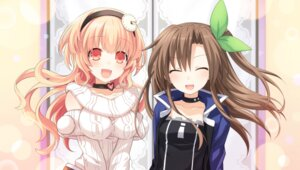 Rating: Safe Score: 29 Tags: choujigen_game_neptune compa if_(choujigen_game_neptune) sweater tsunako User: Nepcoheart