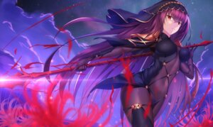 Rating: Safe Score: 28 Tags: armor bodysuit fate/grand_order feng_mouren scathach_(fate/grand_order) weapon User: charunetra