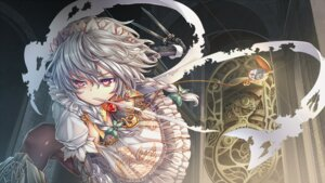 Rating: Safe Score: 23 Tags: izayoi_sakuya kanna211 maid touhou weapon User: dyj