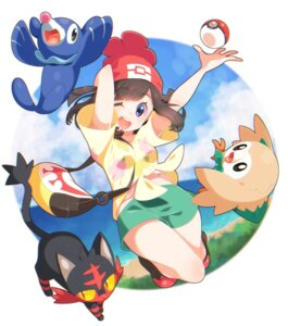 Rating: Safe Score: 31 Tags: female_protagonist_(pokemon_sm) litten neko pokemon pokemon_sm popplio rowlet yupiteru User: cosmic+T5