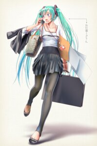 Rating: Safe Score: 50 Tags: hatsune_miku pantyhose vocaloid wokada User: RaulDJ747