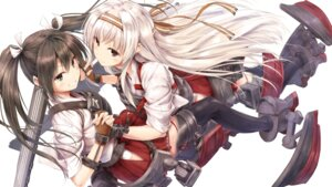 Rating: Safe Score: 67 Tags: kantai_collection shoukaku_(kancolle) suien thighhighs zuikaku_(kancolle) User: Mr_GT