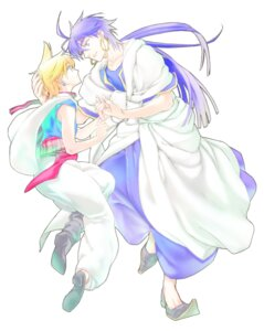 Rating: Safe Score: 3 Tags: alibaba_saluja magi_the_labyrinth_of_magic male minase_(six-u) sinbad User: charunetra