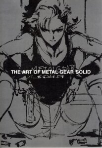 Rating: Safe Score: 9 Tags: binding_discoloration fixme gun konami meryl_silverburgh metal_gear metal_gear_solid monochrome shinkawa_yoji sketch User: Radioactive