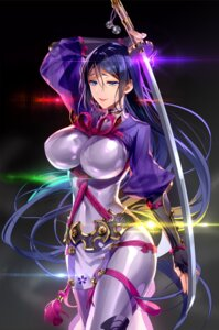 Rating: Safe Score: 79 Tags: bodysuit fate/grand_order minamoto_no_raikou_(fate/grand_order) murakami_yuichi sword User: Mr_GT
