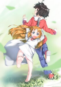 Rating: Safe Score: 8 Tags: daible dress feet hakase nichijou shinonome_nano User: Radioactive