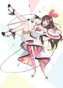 Rating: Safe Score: 14 Tags: a.i._channel cleavage garter heels kizuna_ai no_bra rfg_rozen User: Mr_GT