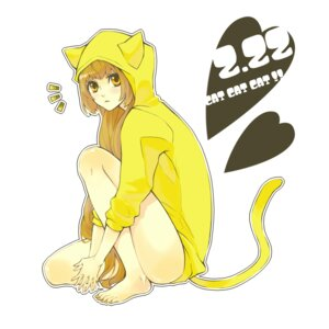 Rating: Safe Score: 8 Tags: animal_ears nekomimi peso tail User: Radioactive