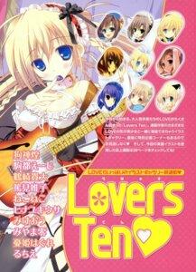 Rating: Safe Score: 21 Tags: cleavage guitar pantsu thighhighs tsurusaki_takahiro User: crim