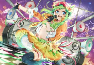 Rating: Questionable Score: 11 Tags: garter gumi nou thighhighs underboob vocaloid User: 23yAyuMe