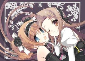 Rating: Safe Score: 29 Tags: gothic_lolita lolita_fashion minase_iori senomoto_hisashi takatsuki_yayoi the_idolm@ster tokumi_yuiko User: fairyren