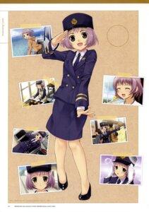 Rating: Safe Score: 7 Tags: mibu_natsuki police_uniform tetsudou_musume togawa_tsukushi User: fireattack