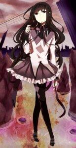 Rating: Safe Score: 31 Tags: akemi_homura kyama megane pantyhose puella_magi_madoka_magica User: Nekotsúh