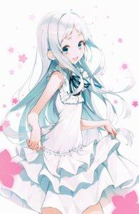 Rating: Safe Score: 38 Tags: ano_hi_mita_hana_no_namae_wo_bokutachi_wa_mada_shiranai dress honma_meiko pro-p skirt_lift summer_dress User: Dreista