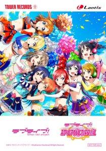 Rating: Safe Score: 31 Tags: ayase_eli cheerleader cleavage headphones hoshizora_rin koizumi_hanayo kousaka_honoka love_live! love_live!_school_idol_festival minami_kotori nishikino_maki sonoda_umi thighhighs toujou_nozomi yazawa_nico User: saemonnokami