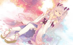Rating: Questionable Score: 65 Tags: bzerox hatsune_miku sakura_miku thighhighs vocaloid User: KazukiNanako