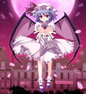 Rating: Safe Score: 10 Tags: dress marotti remilia_scarlet touhou wings User: Nekotsúh