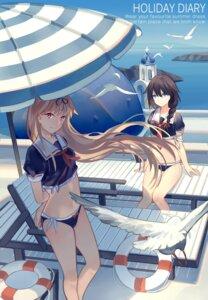 Rating: Safe Score: 81 Tags: bikini kantai_collection norizc seifuku shigure_(kancolle) swimsuits yuudachi_(kancolle) User: Aneroph