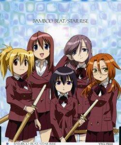 Rating: Safe Score: 11 Tags: azuma_satori bamboo_blade chiba_kirino disc_cover kawazoe_tamaki kuwahara_sayako miyazaki_miyako User: Davison