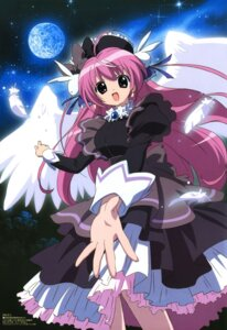 Rating: Safe Score: 9 Tags: angel dress misha morishita_masumi pita_ten wings User: Radioactive