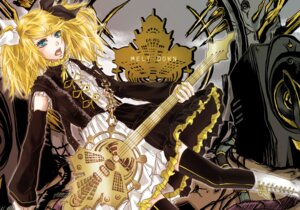 Rating: Safe Score: 4 Tags: en_(y24434) kagamine_rin meltdown_(vocaloid) thighhighs vocaloid wallpaper User: anaraquelk2