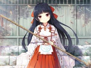 Rating: Safe Score: 58 Tags: ayakashi_kyoushuutan cura lose miko monobeno seishin_himemiya User: john.doe