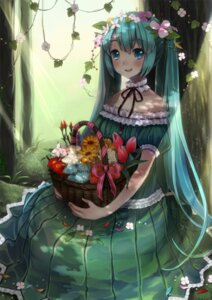 Rating: Safe Score: 41 Tags: dress hatsune_miku sususuyo vocaloid User: hobbito
