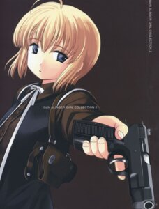 Rating: Safe Score: 5 Tags: aida_yuu gun gunslinger_girl rico_(gunslinger_girl) User: Radioactive