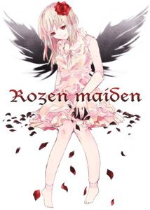 Rating: Safe Score: 18 Tags: dress feet rozen_maiden suigintou wings yakusuke User: charunetra